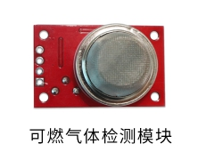 Combustible gas detection module